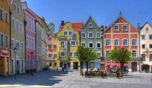 Weilheim Fußgängerzone vor Ort